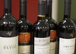Vinhos nacionais e importados