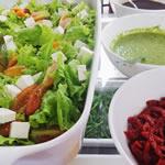 Saladas | Restaurante Cabotiá - Coromandel